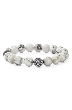 Free shipping and returns on LAGOS Bead Stretch Bracelet at Nordstrom.com. A richly textured sterling-silver bead punctuates a handcrafted stretch bracelet strung with glossy semiprecious or precious beads.