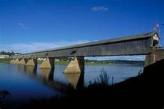 Longest covered bridge in the world ~ Hartland, NB Canada Ontario, New Brunswick Canada, Old Bridges, Discover Canada, Atlantic Canada, Destinations, Natural Bridge, Prince Edward Island, Covered Bridges