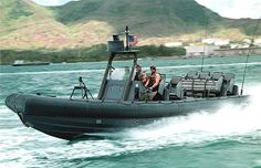 Rigid Hull Inflatable Boat. RHIB