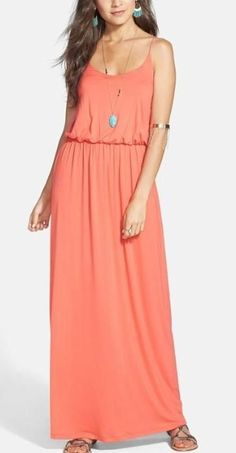 Adorable! Want this maxi dress in every color.
