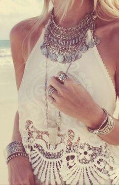 Necklace - coin collar