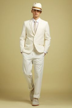 French label Kitsuné unveils their Spring / Summer 2012 collection, inspired by literary classic F. Scott Fitzgerald's The Great Gatsby. The Great Gatsby, Great Gatsby Wedding, Gatsby Theme, 1920s Wedding, Gatsby Party, Men's Collection, Summer Collection, Snow Fashion, Mens Fashion