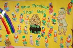 More Precious than Gold - Love this bulletin board saying