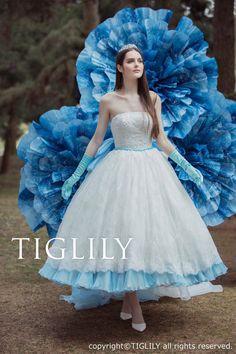 【Tina ティナ】ウェディングドレス_カラードレス(w337)