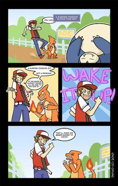 pokemon pictures | Image: blockage-inyuo-Charmeleon-snorelax-sleep...fanart.jpg]
