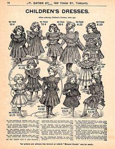Eaton's Catalog #46 (Children's Dresses)