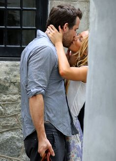 Blake Lively and Ryan Reynolds spotted the day after their wedding. SO IN LOVE
