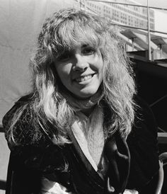 """""""Sweet Stevie photographed backstage during the """"Day on the Green Festival"""" in 1977. """""""