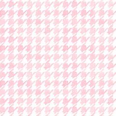 Houndstooth - Soft Pink fabric by pattysloniger on Spoonflower - custom fabric