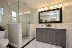 60 Master Bathroom Shower Remodel Ideas – Home Design Master Bathroom Layout, Master Bathroom Shower, Bathroom Ideas, Bathroom Designs, Shower Ideas, Redo Bathroom, Neutral Bathroom, Bathroom Showers, Mirror Bathroom
