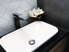 Basins, Shower Systems, Matte Black, Chrome, Contemporary, Bathroom, Design, Washroom, Full Bath