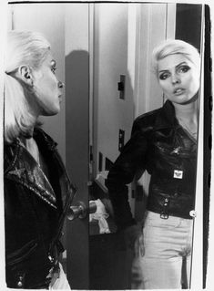 Debbie Harry's fame-hungry days with Blondie are revealed in a captivating behind-the-scenes book and exhibition by her former partner Chris Stein