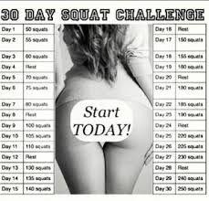 Khloe Kardashian squat challenge