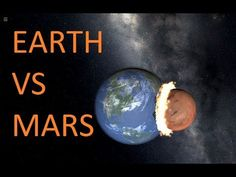 what if mars hits the earth (space simulation)