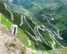 Switzerland - the Grimsel Pass - bicycling this a few years ago pushed me further than I've ever been pushed