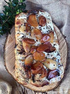 schab-nadziewany-czosnkiem-na-kanapki Camembert Cheese, Dairy, Blog, Blogging