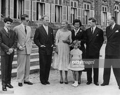 Photo d'actualité : Prince Albert of Belgium, later King Albert II of...