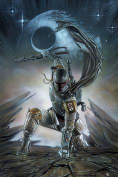 Star Wars #1 Variant cover by Adi Granov