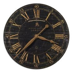Global Direct Analog Round Indoor Wall Clock 06029