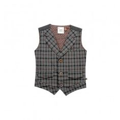 Heathered Plaid Vest - @Fore!!Axel