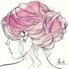 Think Pink by kleinmeli on deviantART