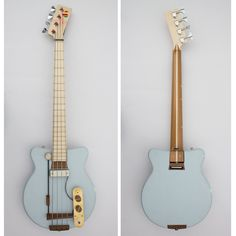 Schorr Guitars The Owl Bass #011 Front and Back