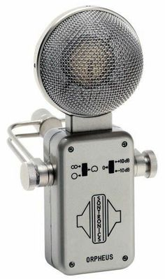 """Sontronics Orpheus, A few years ago, CNET ran a story posing the question, """"How can receivers sound bette, Old School Microphone, Vintage Microphone, Radio Wave, Recording Equipment, Audio Room, Studio Gear, Recorder Music, Digital Audio, Depeche Mode"""