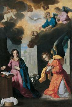 Saint Gabriel archange ANNUNCIAZIONE ZURBARAN