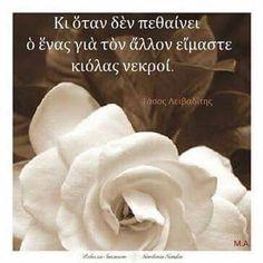 Είμαστε κι ολας νεκροι... Greek Quotes, Biologist, Rose, Philosophy, Pink, Roses, Philosophy Books