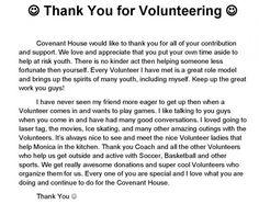 volunteer speeches examples