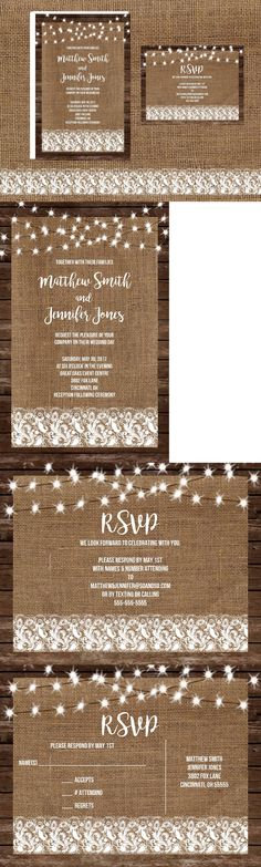 invitations and stationery 102469 wedding invitations wood burlap