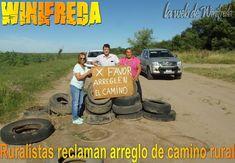 Reclaman mantenimiento de camino en Winifreda