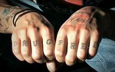One of CM Punk's many awesome tattoos.