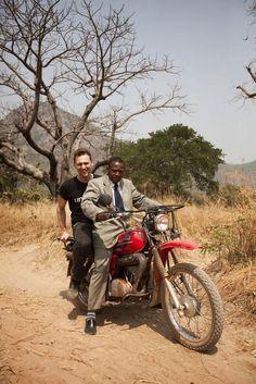 Tom Hiddleston Is Doing Good In Guinea