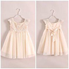 Ladies Ivory Dresses