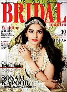 All about bridal hairpieces, what can I say every queen needs her crown, and every princess needs her tiara. (4) sonam kapoor | Tumblr