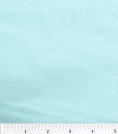 Aqua Cotton Flannel Fabric, by the half yard - Solid Colors by BaysideFabrics on Etsy