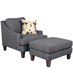 Catalina Chair/Ottoman Set | Overstock.com Shopping - Great Deals on Chairs