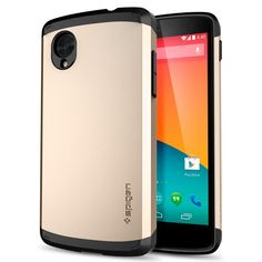 Nexus 5 Case, Spigen Slim Armor Case for Nexus 5 - Retail Packaging - Champagne Gold (SGP10566) SPIGEN http://www.amazon.ca/dp/B00EV8Y8M8/ref=cm_sw_r_pi_dp_cYTWub0Y7TYXV