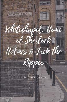 London, White Chapel, Sherlock Holmes, Jack the Ripper