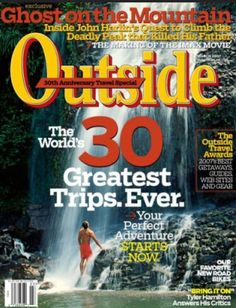 Outside Magazine, Only $4.99 per Year!