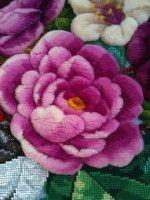 "Gallery.ru / Фото #54 - ""Плюшевый"" стежок - natashakon Stitch Kit, Punch Needle, Machine Embroidery, Embroidery Hoops, Needlepoint, Needlework, Diy And Crafts, Cross Stitch, Plush"