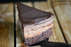 Triple Chocolate Cheesecake - Copycat Cheesecake Factory. hugsandcookiesxoxo.com