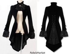 Exquisite Vampire Knight Tailcoat Style Jacket