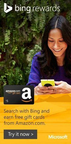 I scored 500 @Swagbucks for cash and gift cards from @BingRewards. http://www.bing.com/rewards/redeem/000100000049?rrid=66C609BC-51DD-40C1-AF6F-F8060A7C35F6 Search w/ @Bing to get yours!