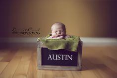 newborn photography, baby Austin.
