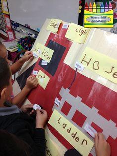 Crayons & Cuties In Kindergarten: Fire Safety Fun!
