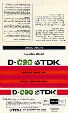 Vintage TDK