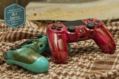 Rusted Patina PS4 controllers #rust #ps4 #patina #dualshock4 #dualshock