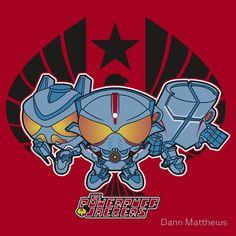 Powerpuff Jaegers Look Cute And Cuddly [T-Shirt]